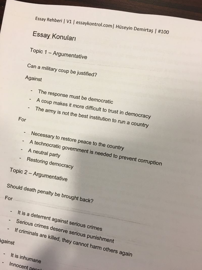 Cause and solutions essay konular?